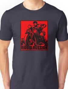 Ride a Russian Square Unisex T-Shirt