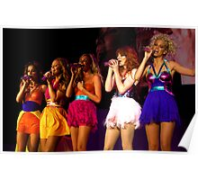 Girls aloud live in Bournemouth 2008 Poster
