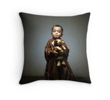 doggy boy Throw Pillow