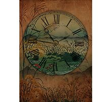 Behind Time Photographic Print