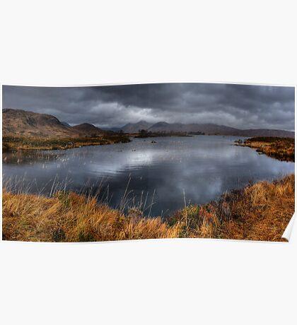Rannoch Moor Vista, Scottish Highlands Poster