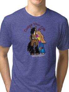 Cuddle Your Cob Tri-blend T-Shirt