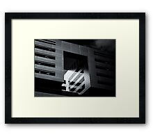 Void Cube Framed Print