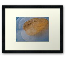 Dead leaf as light as air Framed Print