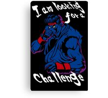 Ryu A New Challenger Canvas Print