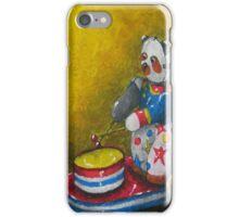 Wind up Panda toy iPhone Case/Skin