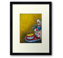 Wind up Panda toy Framed Print