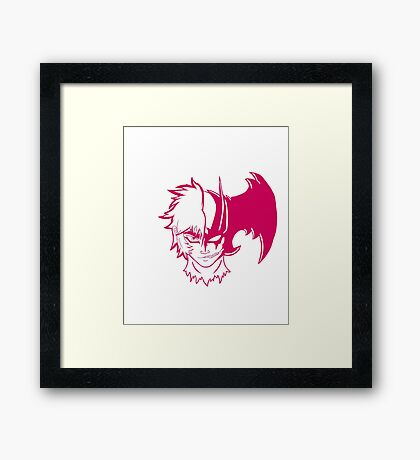 DevilMan (red) Framed Print