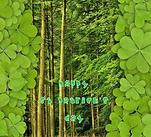 Happy St Patrick's Day! by Sandra Cockayne