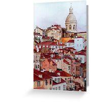 Lisbon, Portugal Greeting Card