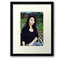 Colour my world Framed Print