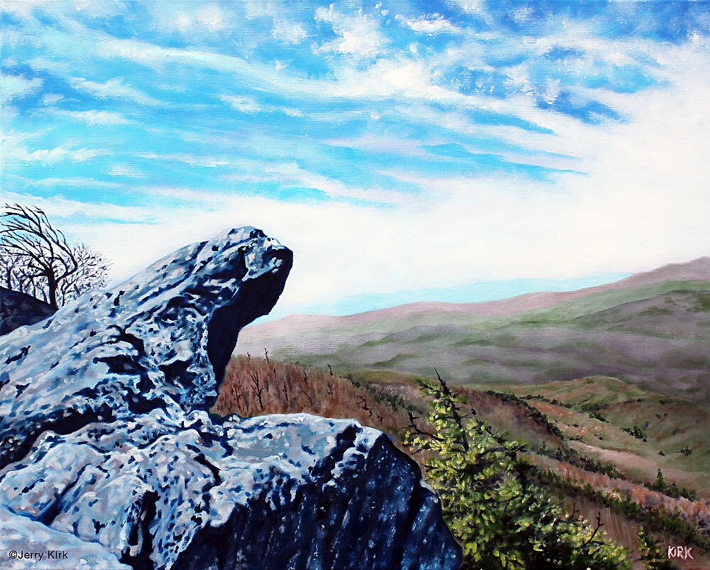 'The Blowing Rock' by Jerry Kirk