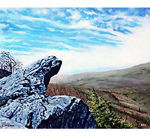 'The Blowing Rock' Photographic Print