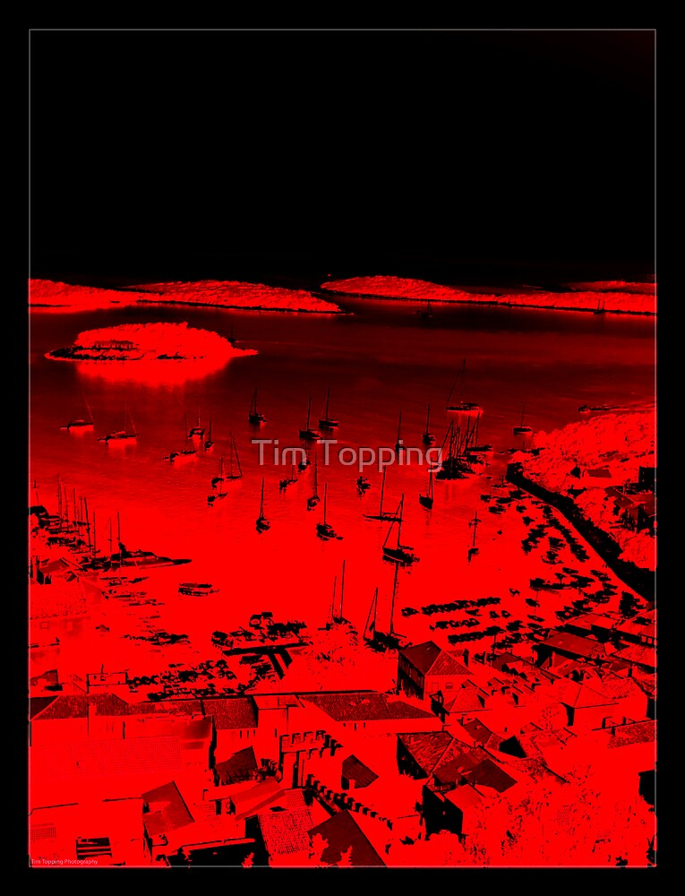 Hvar Harbour by Tim Topping