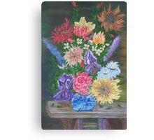 Flemish Floral Canvas Print