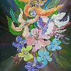 Bursting Bouquet by Mikki Alhart