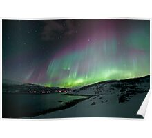 Aurora Borealis / North Light Poster
