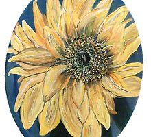 Sunflower by Mikki Alhart