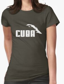 CUBA Womens Fitted T-Shirt