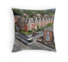 View from The Keep - Dorchester, England Throw Pillow