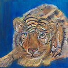 Contented Tiger by Mikki Alhart