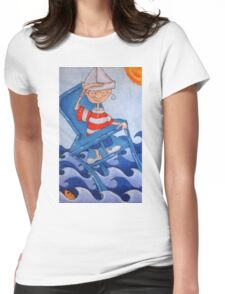 High chair Womens Fitted T-Shirt