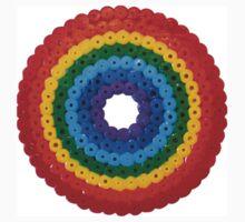 Rainbow Circle Hama Beads One Piece - Long Sleeve
