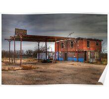 Defunct Truck Stop Poster