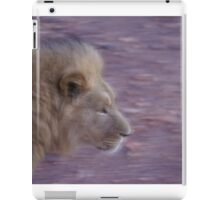 My KIng, My HEro, My ROck iPad Case/Skin
