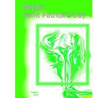Happy Saint Patrick's Day Photographic Print