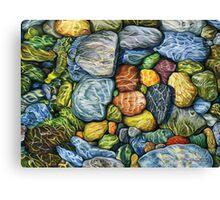 Colourful Pebbles Canvas Print