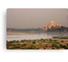 Taj Mahal from Agra Fort Canvas Print