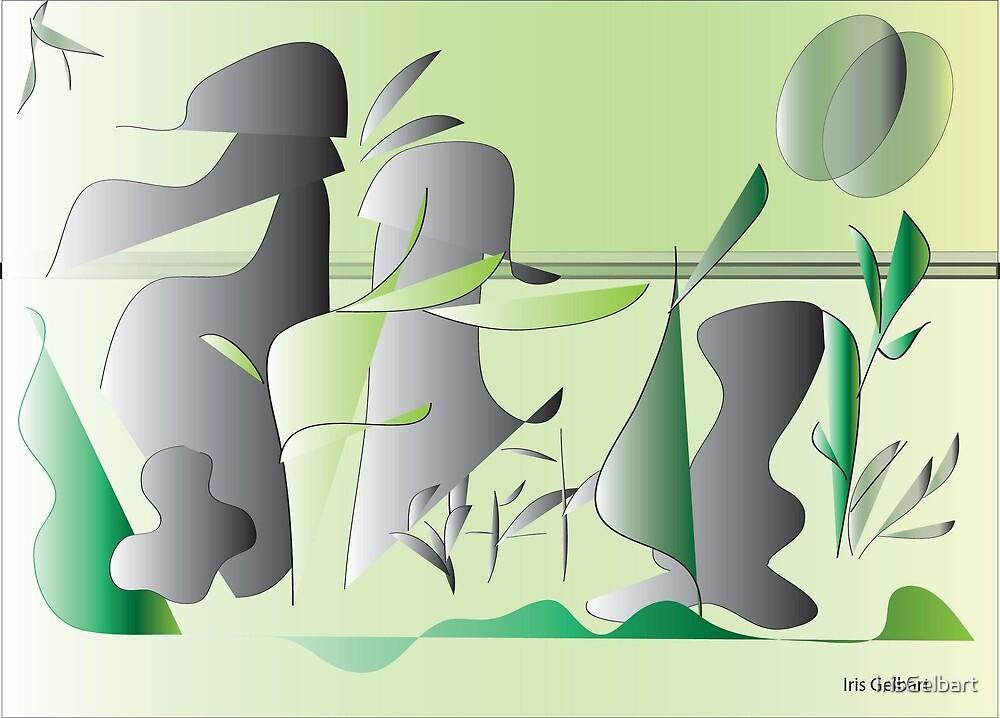 """Spring""""s Garden by IrisGelbart"""