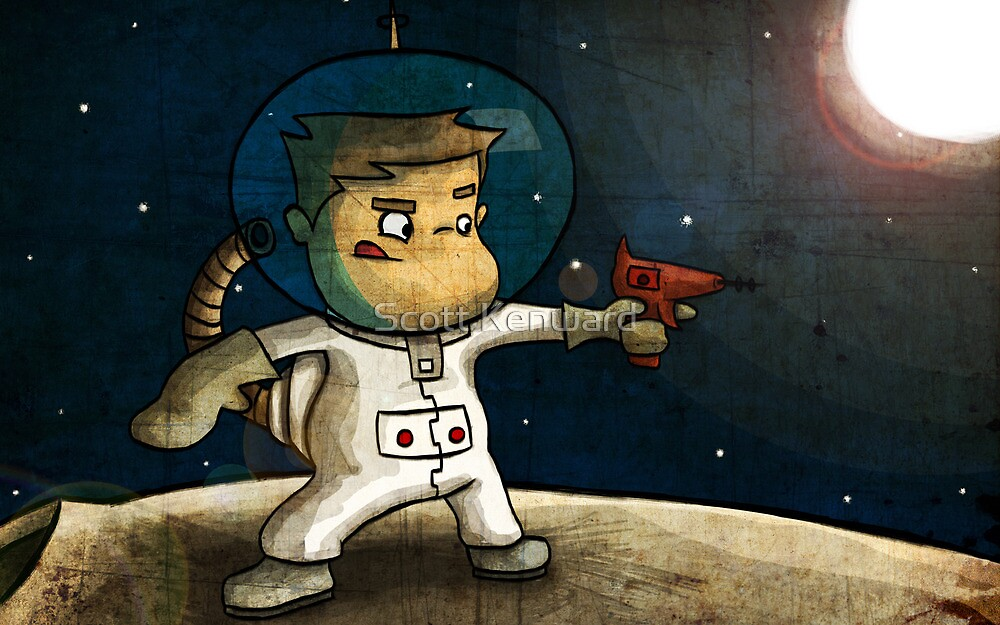 Space boy by Scott Weston