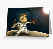 Space boy Greeting Card