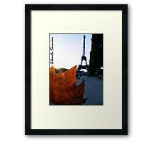 tourre eiffel paris Framed Print