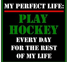 My Perfect Life: Play Hockey by cmmei