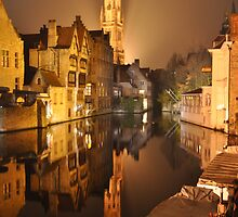 Bruges Reflection by markjknight