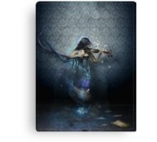 Muse of Music Canvas Print