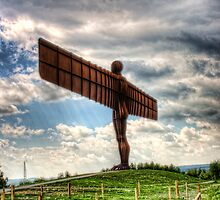 The Angel of the North by Gavin Haworth