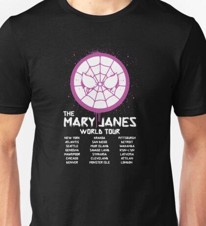 Mary Jane`s World Tour Unisex T-Shirt