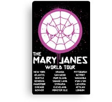Mary Jane`s World Tour Canvas Print
