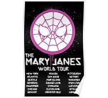 Mary Jane`s World Tour Poster
