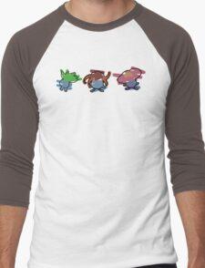 Oddish, Gloom, Vileplume Men's Baseball ¾ T-Shirt