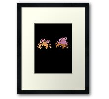 Paras, Parasect Framed Print