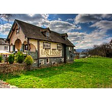 The Log House Restaurant, Ambleside Photographic Print