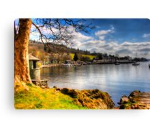 Lake Windermere, from Ambleside. Canvas Print