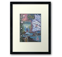 The Path to Healing Framed Print