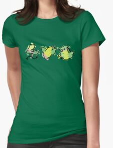 bellsprout, weepinbell, victreebel Womens Fitted T-Shirt