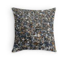 assorted shells Throw Pillow